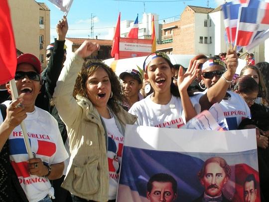 Desfile dominicano Madrid