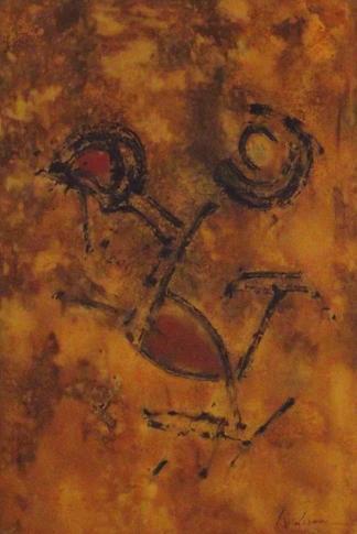 Pintura de Africa Lizana