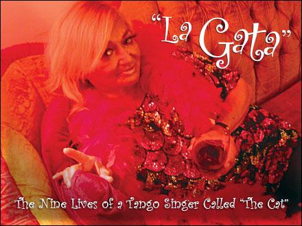 La gata 9 vidas de una cantanta de tango