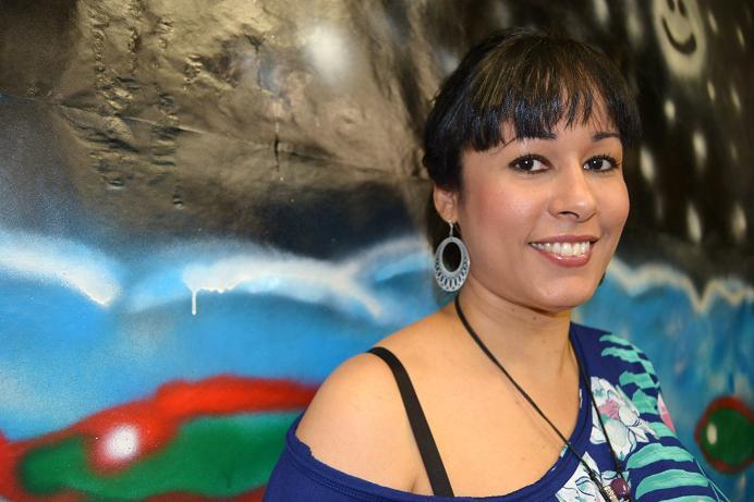 Rosa silverio, poeta dominicana foto imágenes