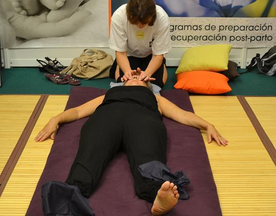 Masajes gratuitos en expomasaje