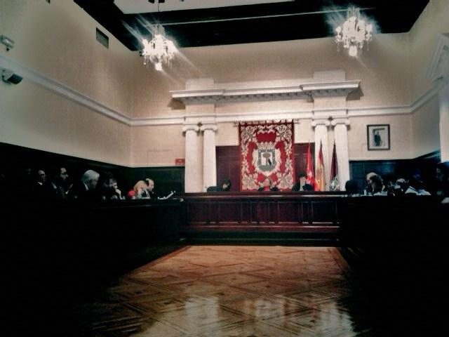 Pleno Junta de Tetuán