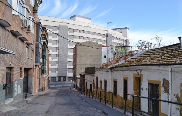 Edificio realojo Paseo de la direccion