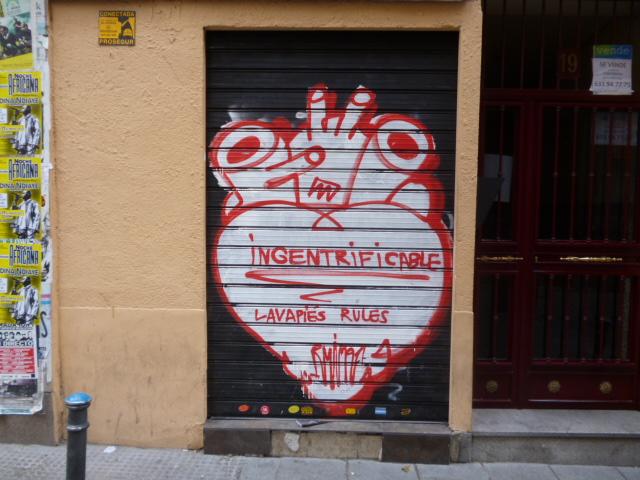 Gentrificacion Madrid