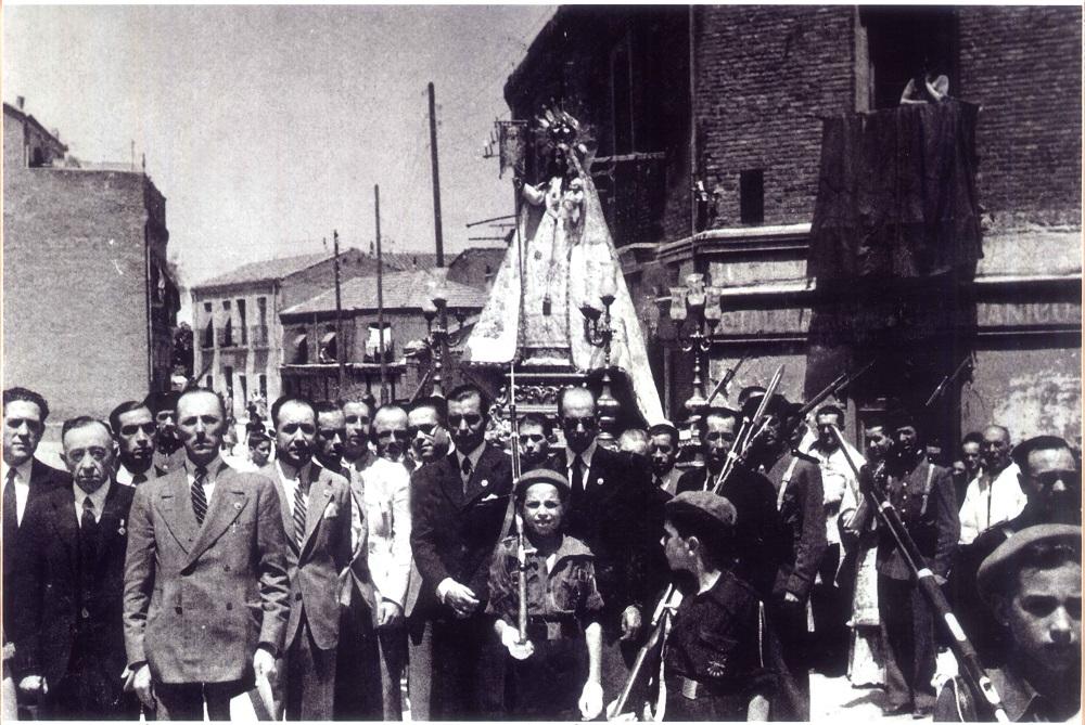 Procesión de la Virgen de las Victorias